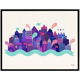 Michelle Carlslund - Purple City