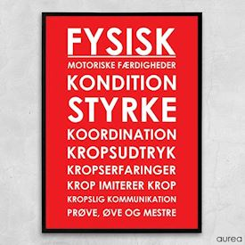 Plakat - Plakat til institution - Fysisk
