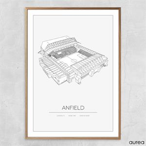 Plakat - Anfield 2016 - Liverpool FC