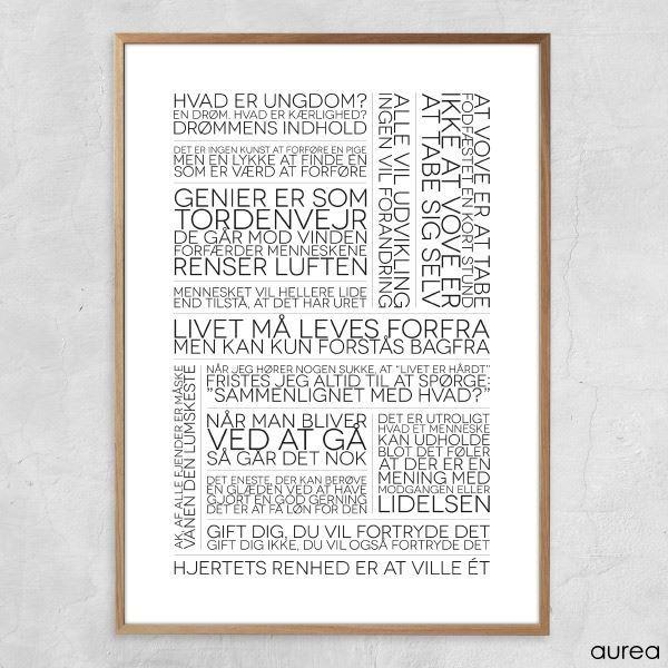 kierkegaard citater at vove Plakat   Citatcollage   Søren Kierkegaard kierkegaard citater at vove