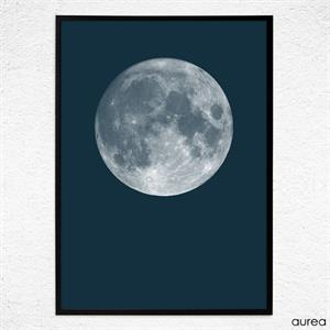 plakat Blue Moon