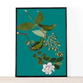 A4 Illustrationer - Vintage Modern - Green