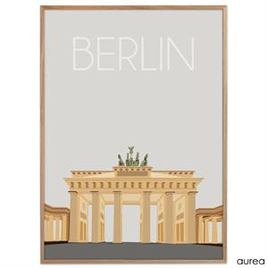 Plakat - Berlin - Brandenburger Tor