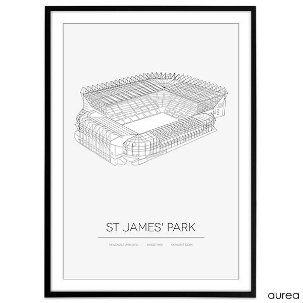 Newcastle United FC, St James Park stadium