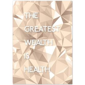 "Plakat ""Light"" - Greatest Wealth"