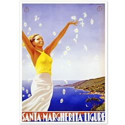 Retro plakat Santa Margherita
