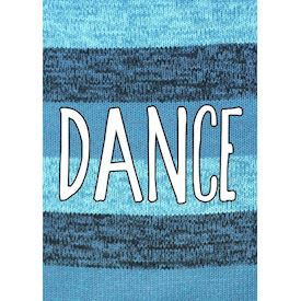 Plakat Knitted Happy Words - DANCE
