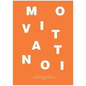 Wordpuzzle Plakat - Motivation