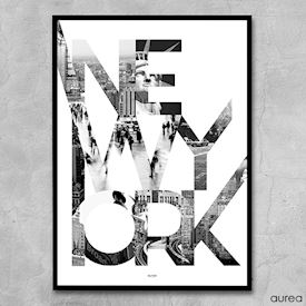 Plakat - City - New York