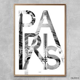 Plakat - City - Paris