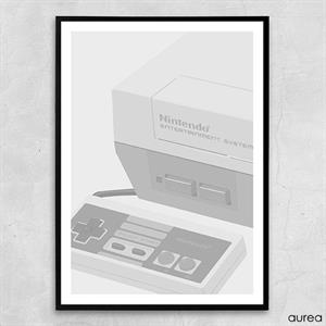 Nintendo Entertainment System plakat