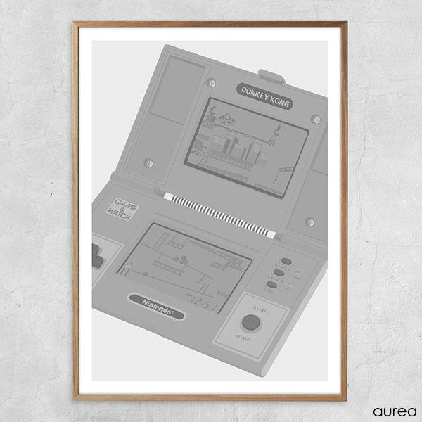 Game & Watch plakat (Nintendo bipbip)