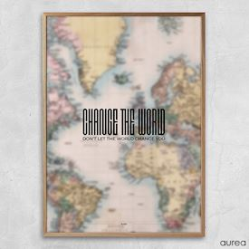Plakat - Change the world