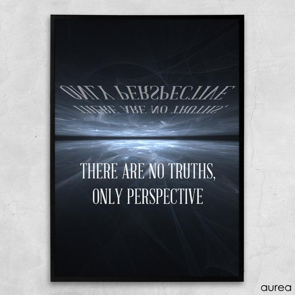 Plakat - There are no truths