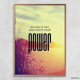 Plakat - Your power