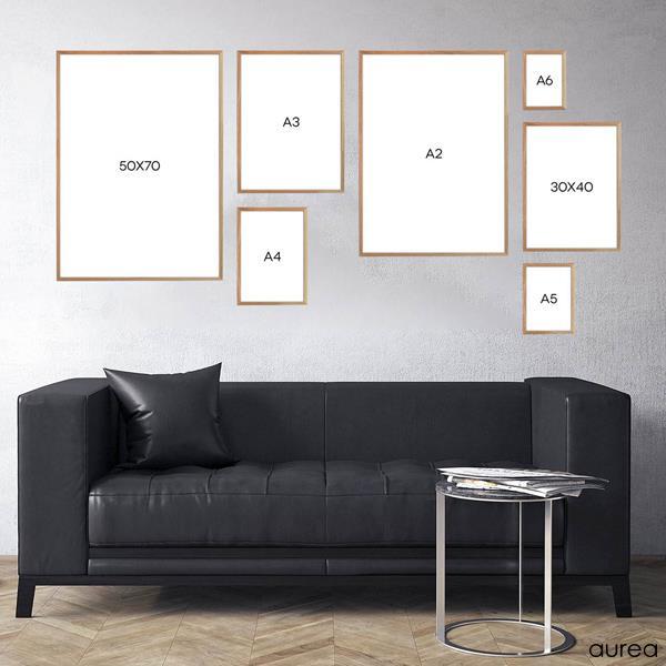 Sidste nye Træramme i egetræ | 50x70 cm| Køb plakatramme online FX-76