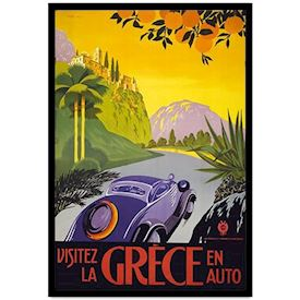 Retro Plakat Greece