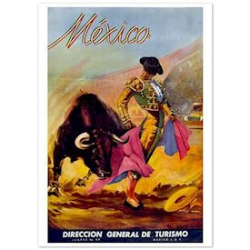 Retroplakat Mexico